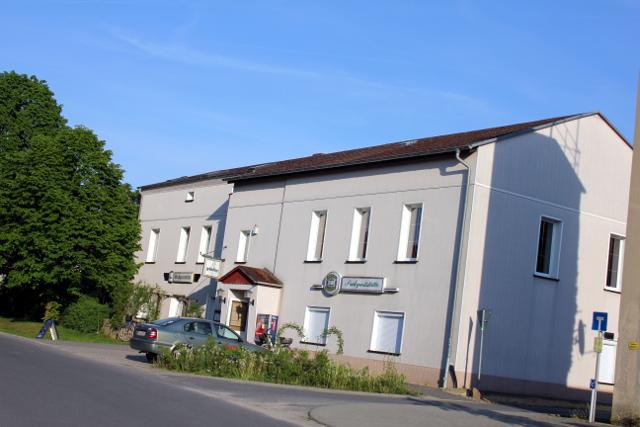 OPOS Records & Neverstraight: Lindenau, Hauptstra�e 18: Zum Objekt gehört die »Parkgaststätte«