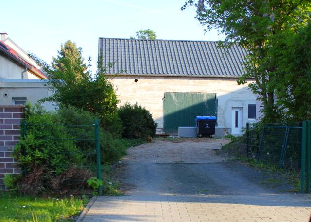 Die ausgebaute Scheune im Hinterhof der Gaststätte: Sitz von OPOS Records